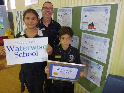 Balingup Primary School celebrates its Waterwise Schools status