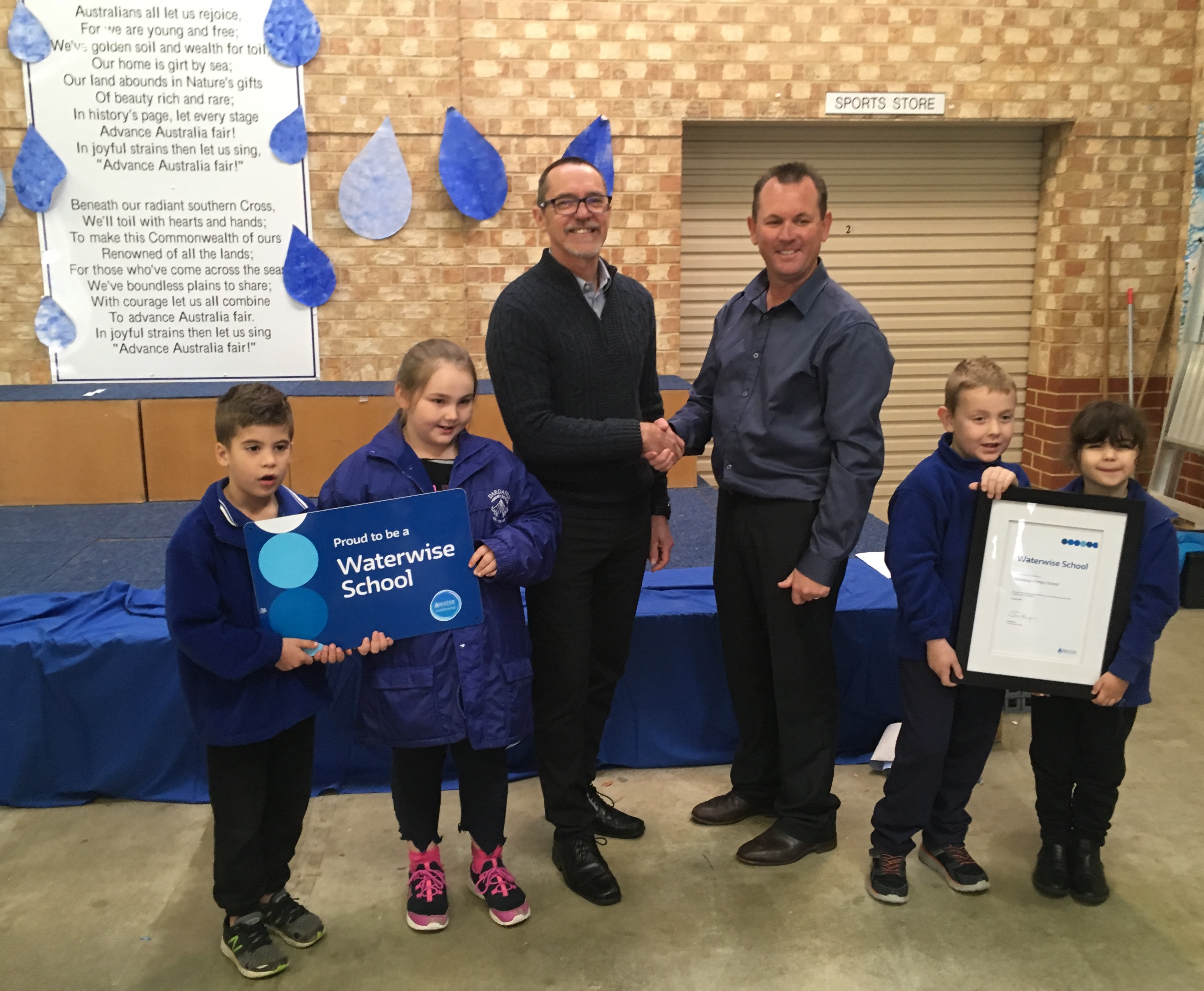 Dardanup Primary School celebrates a decade of waterwise education