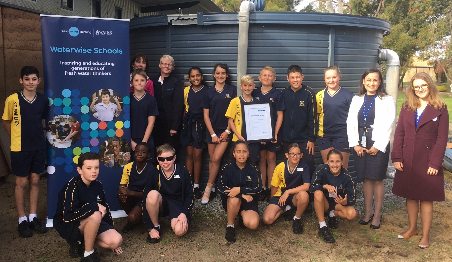 St Emilie's Catholic Primary School celebrates a decade of waterwise education