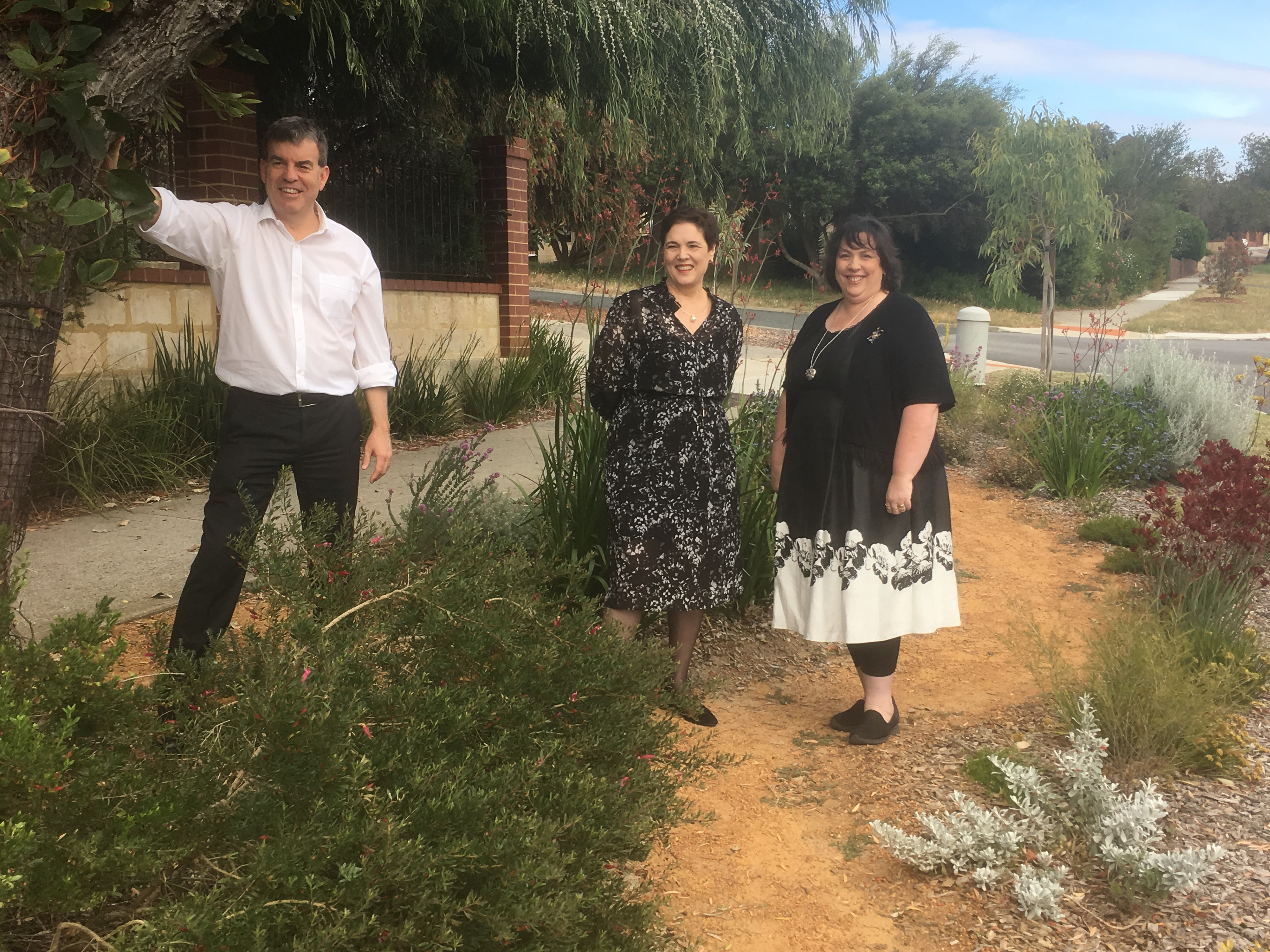 Successful verge transformed with help from the Waterwise Verge Incentive Scheme in the Town of Victoria Park
