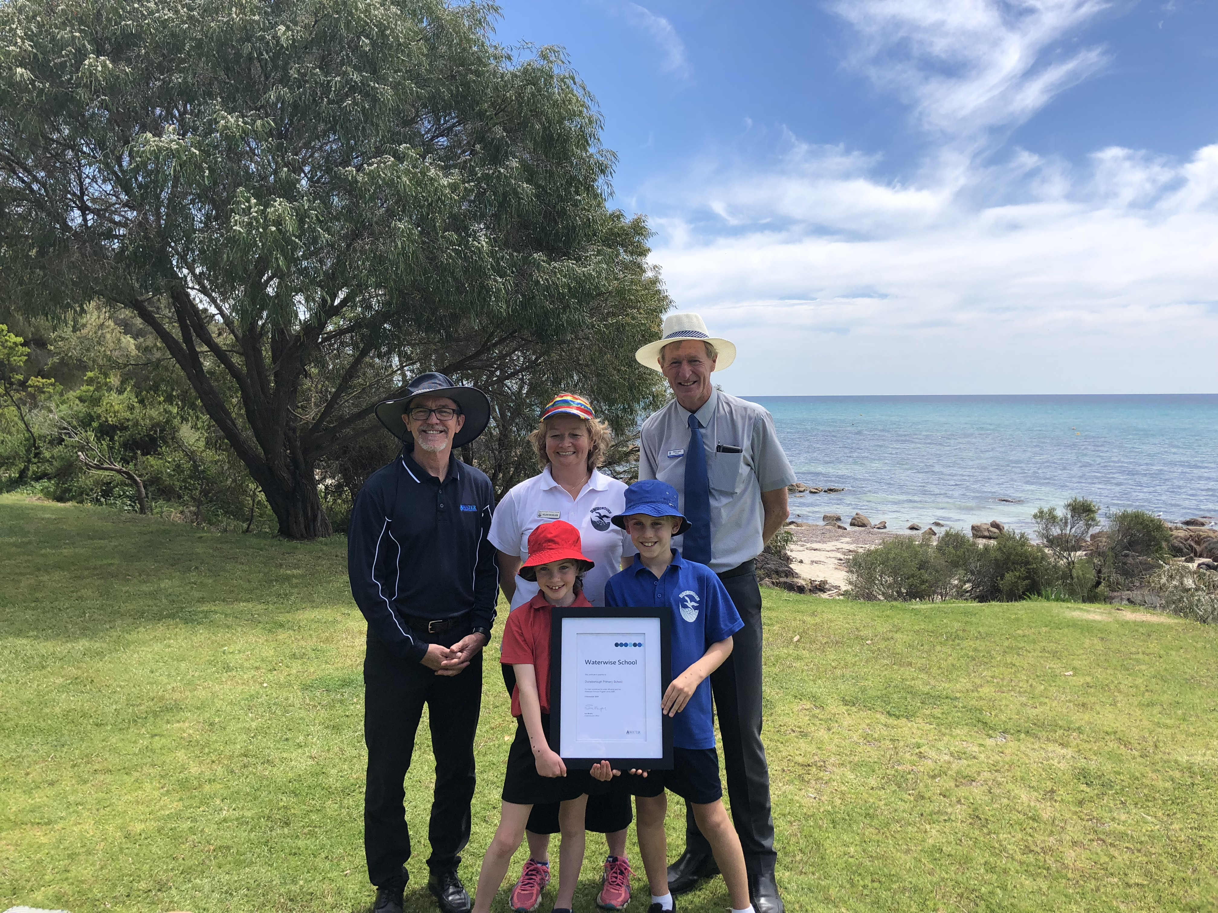 Dunsborough Primary School celebrates 10 years as a Waterwise School