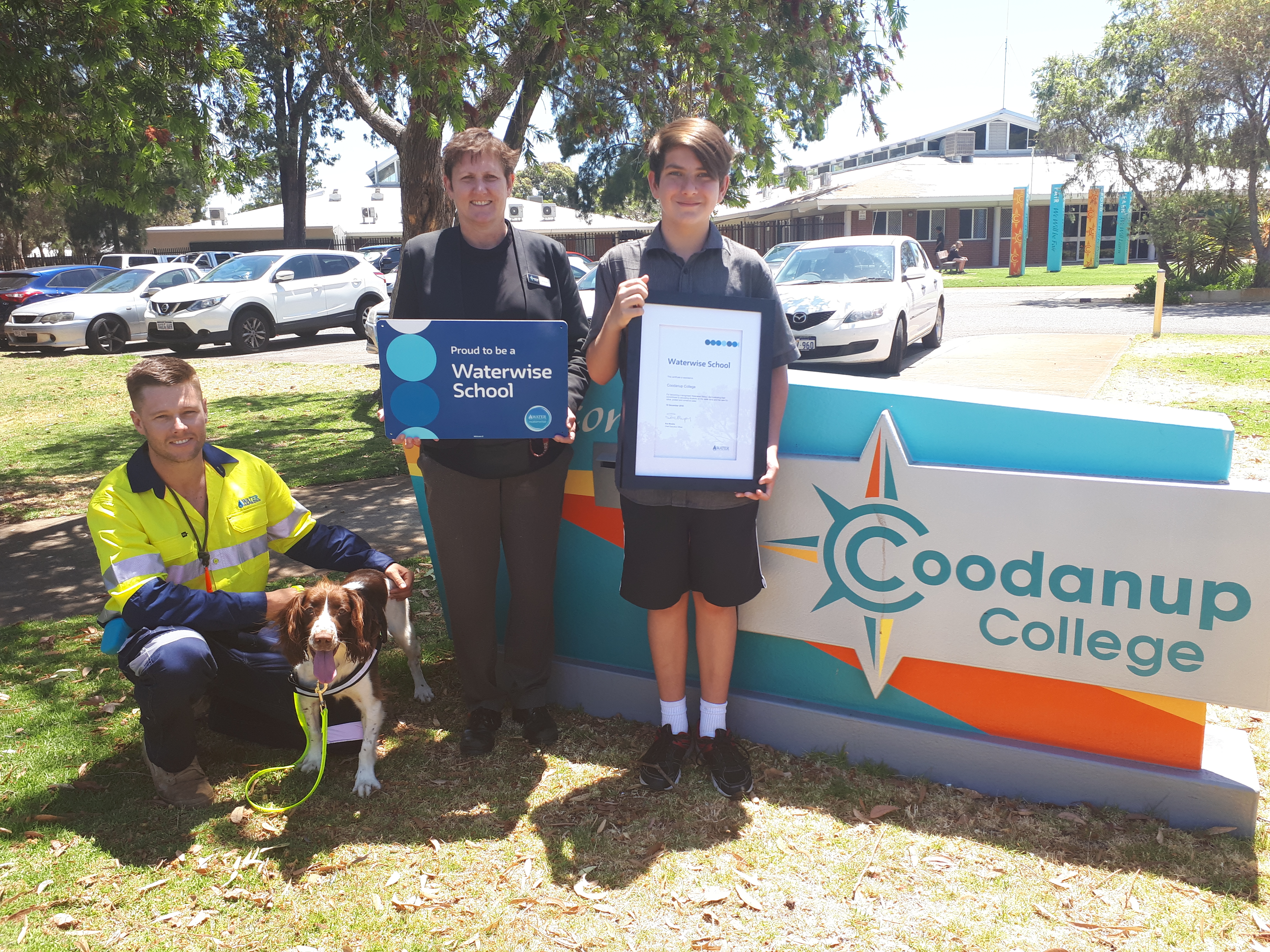 Coodanup College was recognised as a Waterwise School