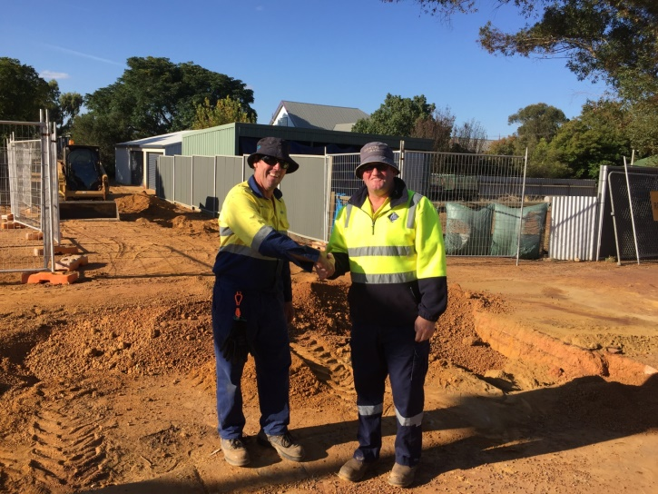 Water Corporation and Shire of Kulin worked together to upgrade a laneway in Kulin