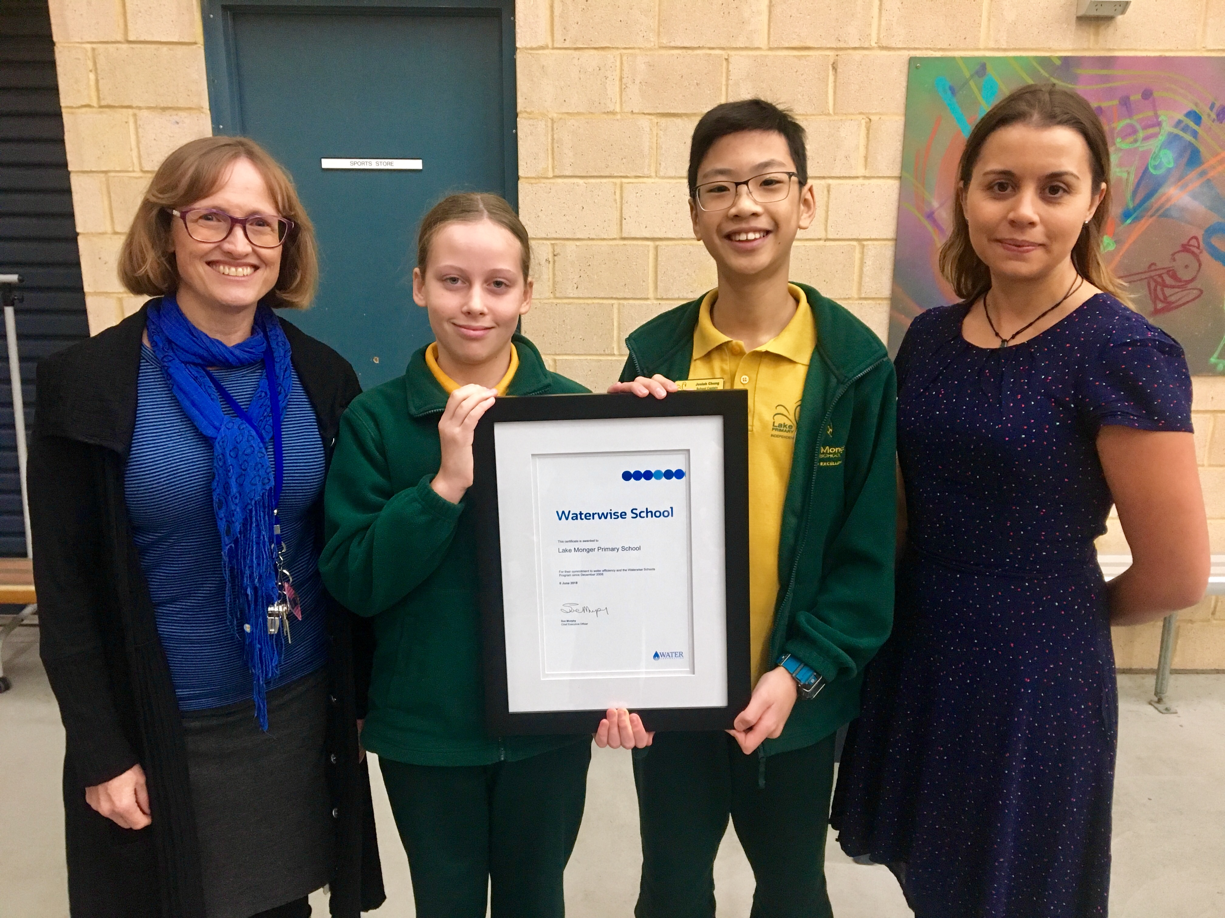 Lake Monger Primary School celebrates a decade of waterwise education