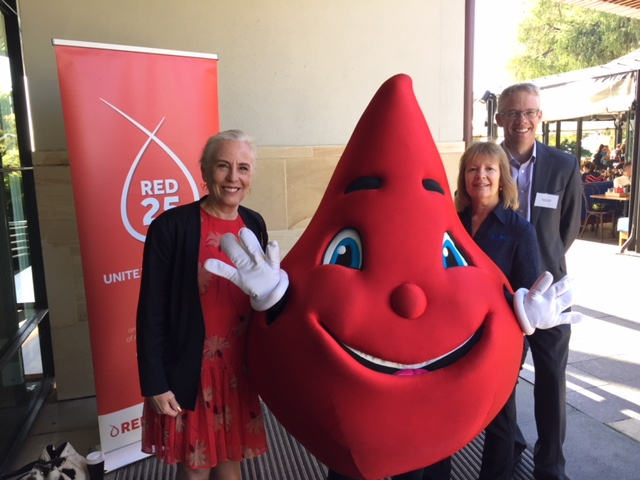 Water Corporation retains title as largest blood donor in the Australian Red Cross Blood Service's Red25 Corporate Category