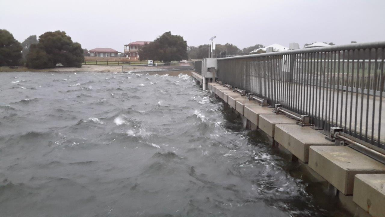 Water Corporation of WA - Surge barriers prove their worth